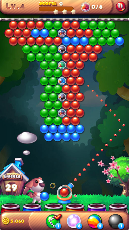 Android Bubble Bird Rescue 2 - Shoot! Screen 14