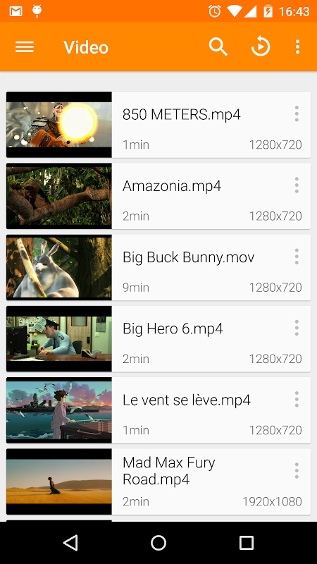 VLC for Android 3.1.0-RC4 Screen 4