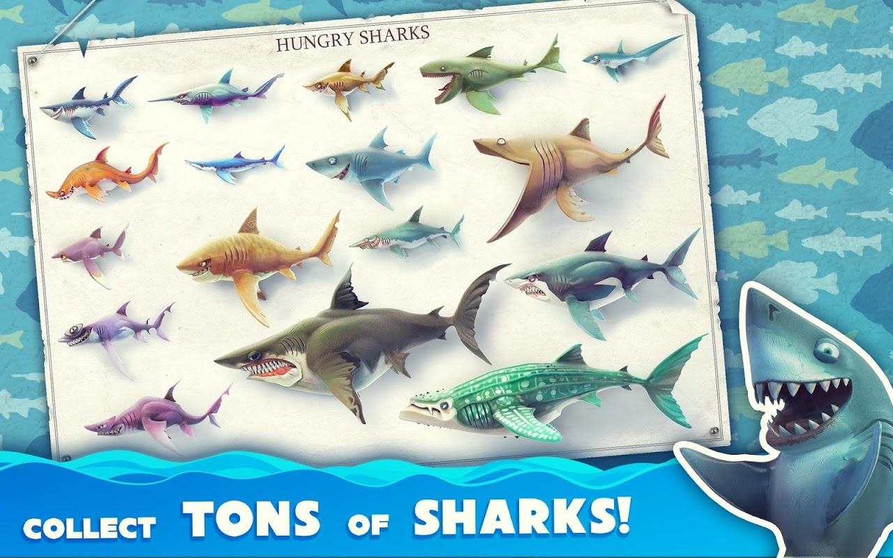 Android Hungry Shark World Screen 5