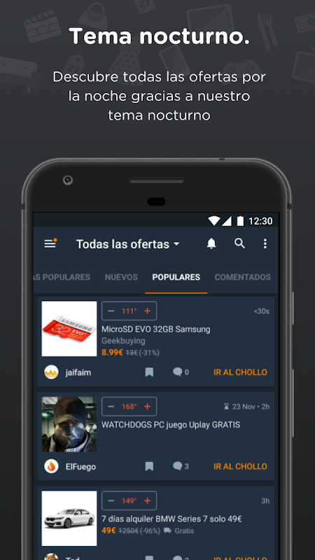 Chollometro – Chollos, ofertas y juegos gratis 5.7.07 Screen 5