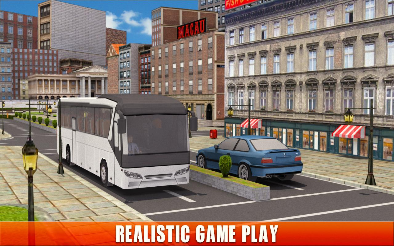 Android Bus Simulator Coach Driver Screen 3