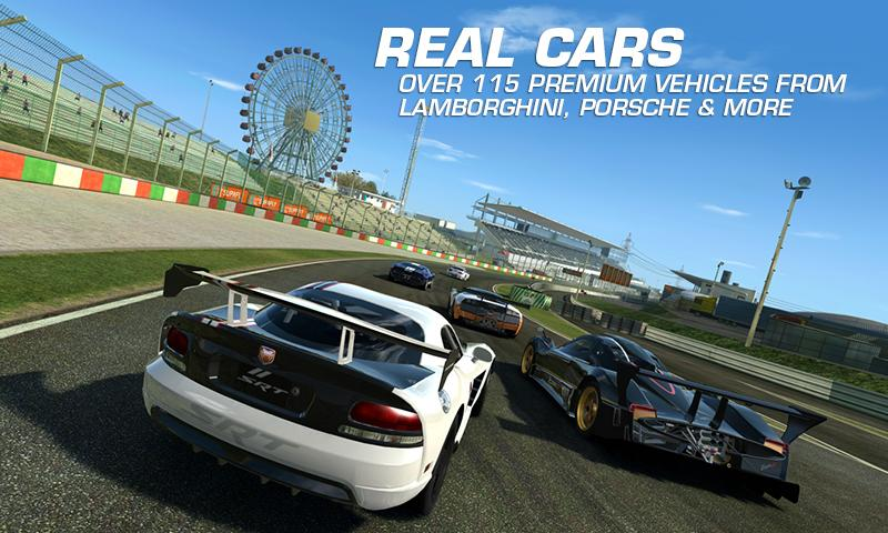 Android Real Racing 3 Screen 3