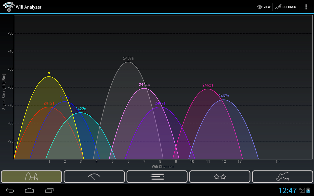 Wifi Analyzer 3.4 Screen 6