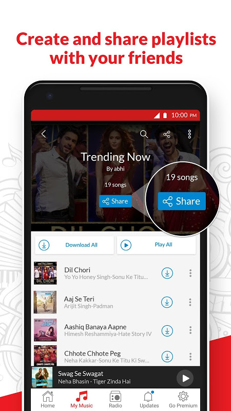 wynk music apk download for android