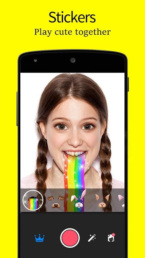 Android Editor De Fotos SnapChat Emoji Screen 2