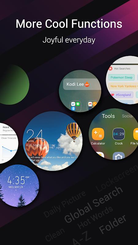 XOS Launcher(2019)- Customized,Cool,Stylish 3.6.60 Screen 2