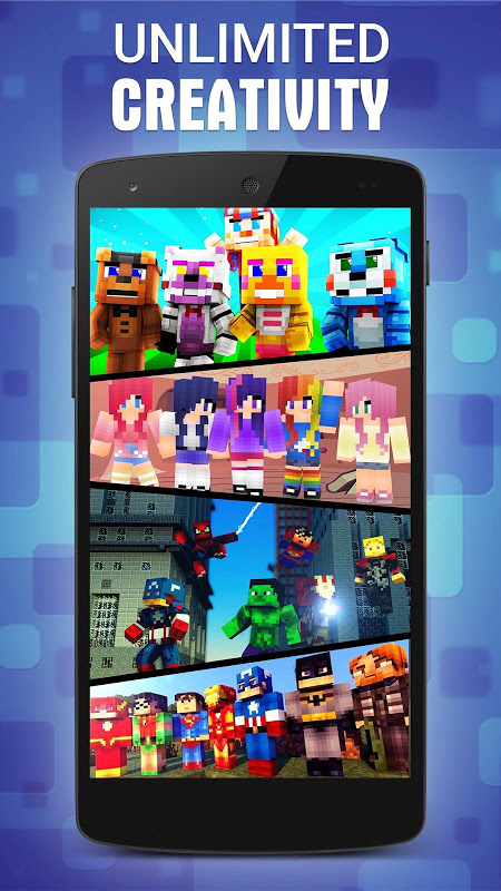 Android Skins for Minecraft PE Screen 1