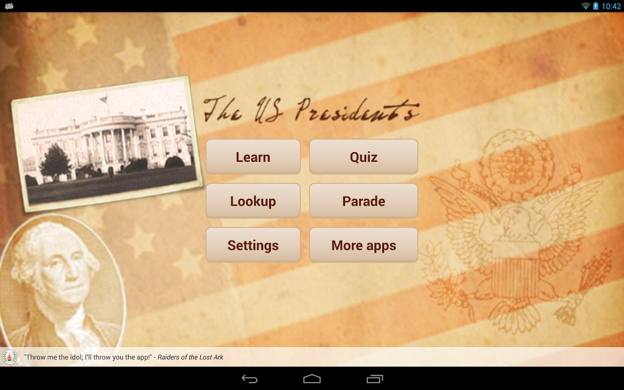 U.S. Presidents 1.8.1 Screen 1