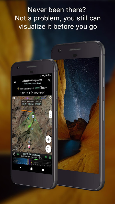 Android Planit! for Photographers Screen 3