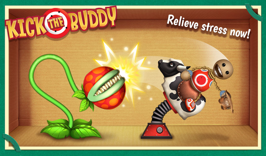 Android Kick the Buddy Screen 2