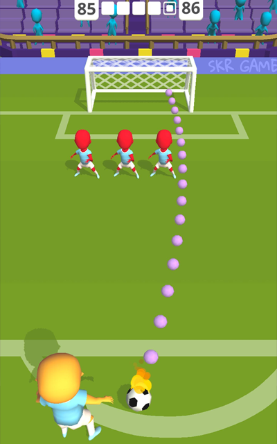 Android Cool Goal! Screen 2