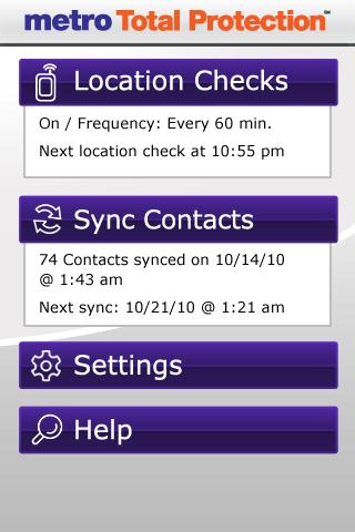 Metro Total Protection App 2.36 (125844) Screen 1