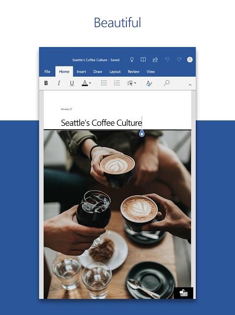 Microsoft Word 16.0.11601.20074 Screen 4