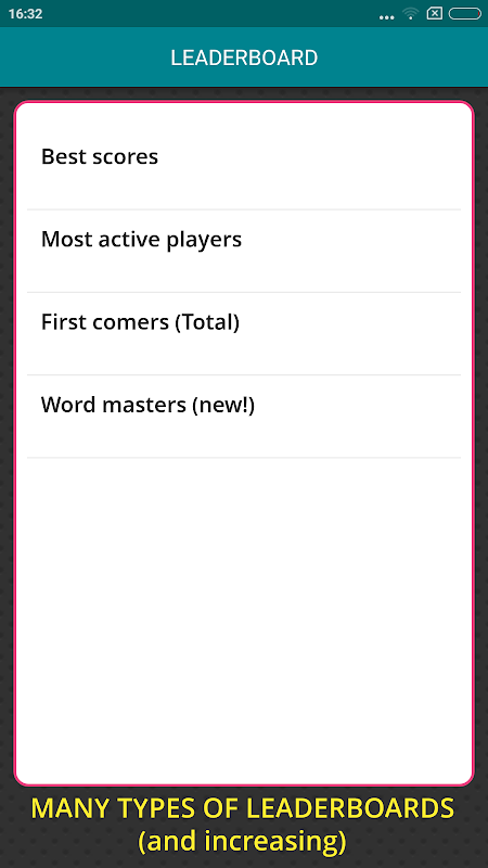 Worgle : Real-time Word Game 1.15 Screen 3