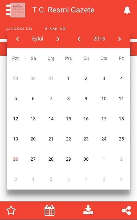 Android Resmi Gazete Screen 3
