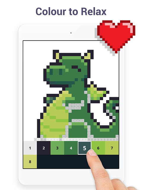 Pixel Art - Colour by Number Book 2.1.2 Screen 6