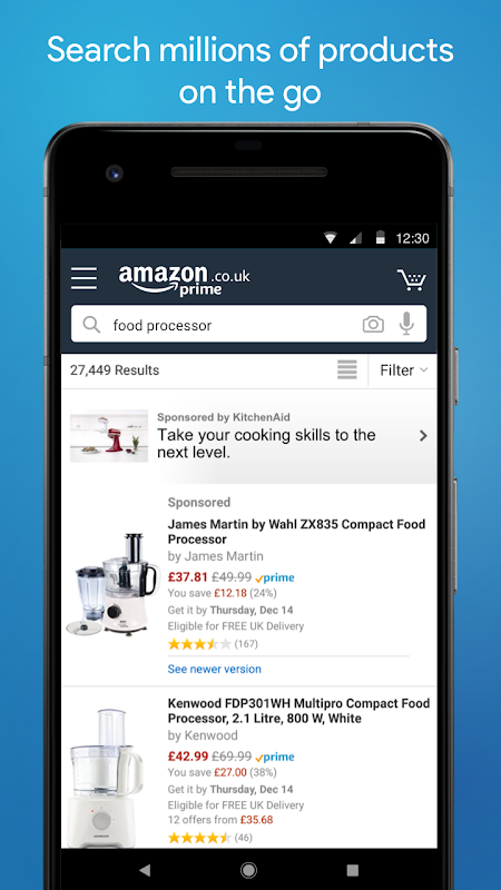 Android Amazon Shopping Screen 2