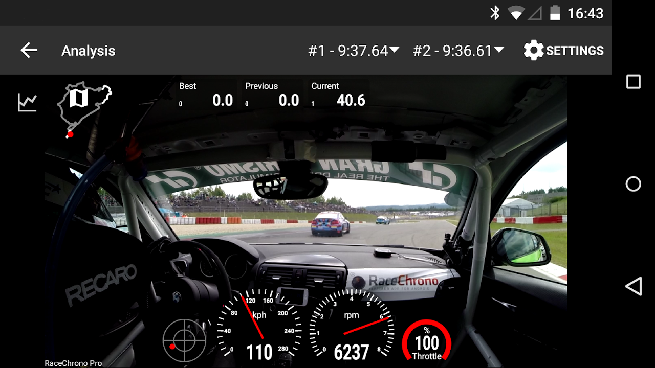 Android RaceChrono Pro Screen 8
