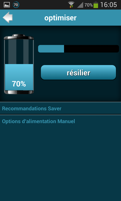 Android Battery Saver Pro Screen 4