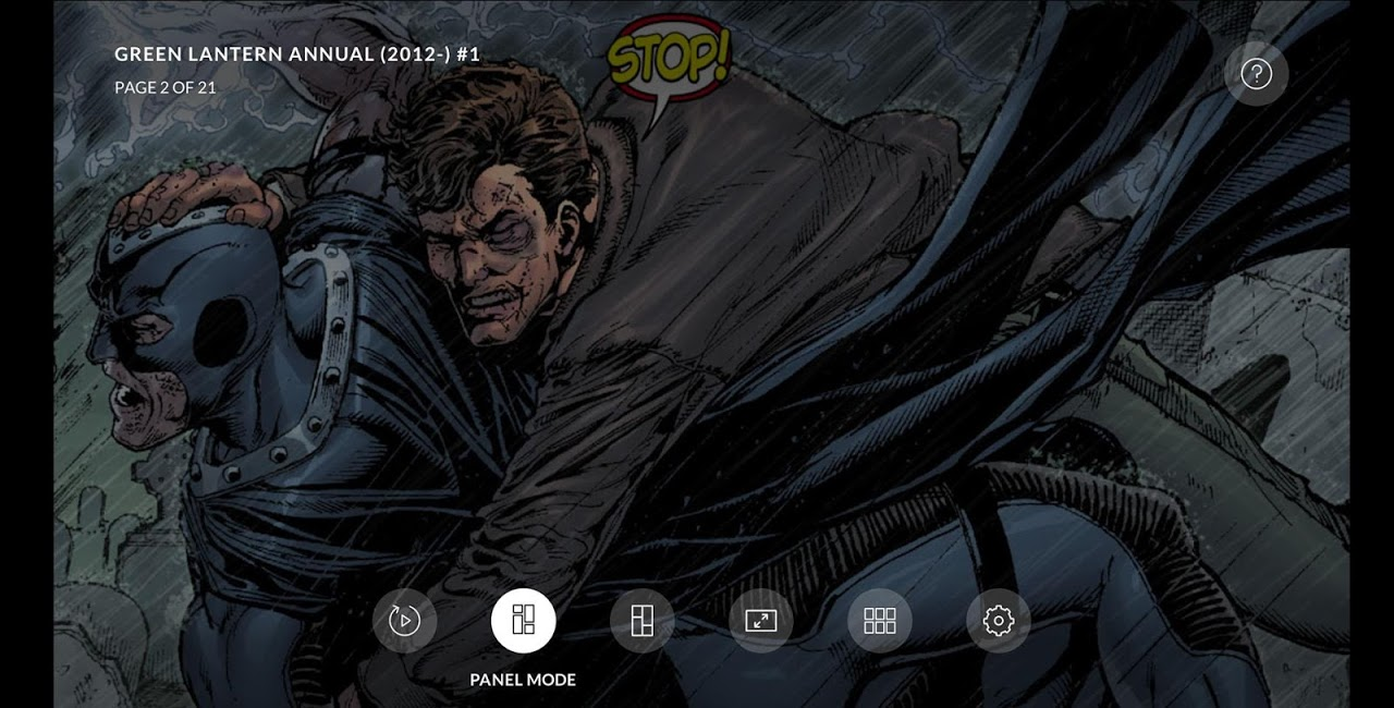 Android DC Universe - Android TV Screen 5
