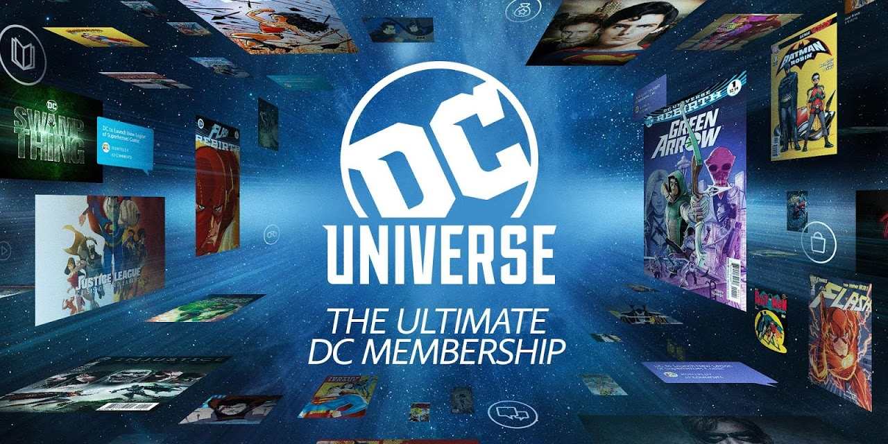 Android DC Universe - Android TV Screen 9