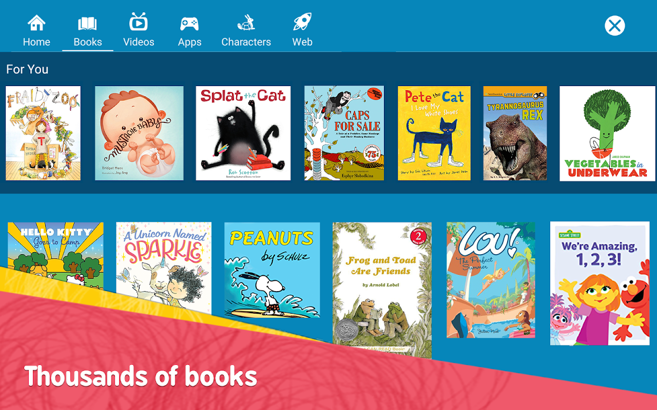 Amazon FreeTime – Kids' Videos, Books, & TV shows FreeTimeApp-fireos_v3.14_Build-1.0.203601.0.11091 Screen 9