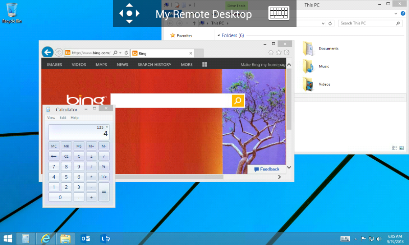 Microsoft Remote Desktop 8.0.5.24406 Screen 17