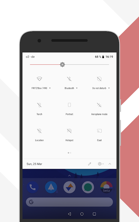 Android [Substratum] Outline Theme (Oreo) Screen 1