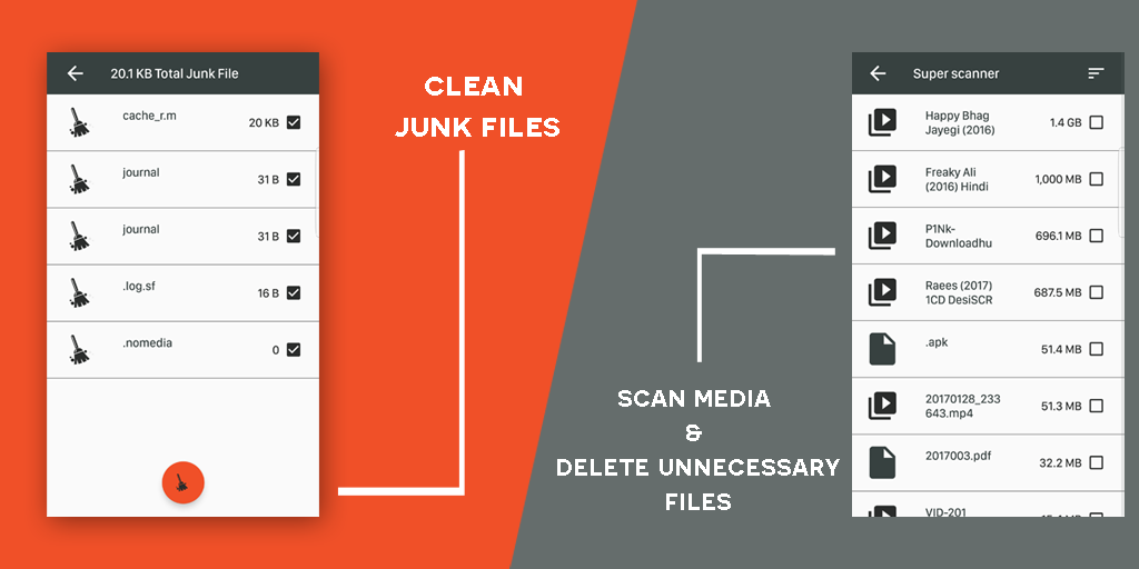Android Mobile Storage Analyzer: Save Space Memory Cleaner Screen 2