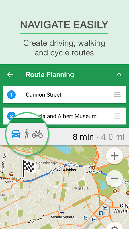 MAPS.ME Offline Map+Navigation 8.4.5-Google Screen 6