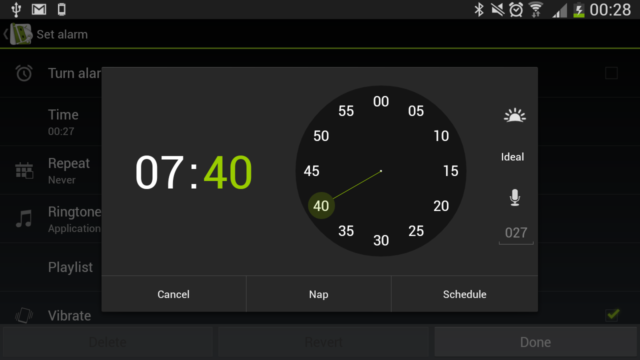 Android Sleep as Android Screen 2