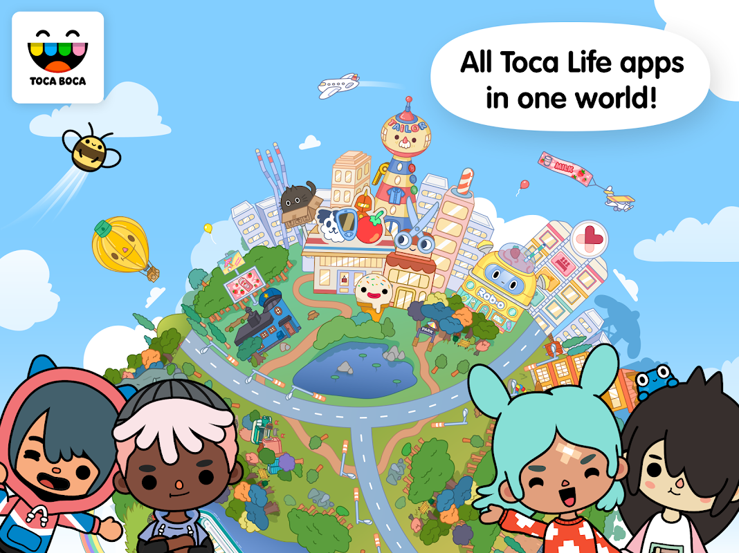 Toca Life: World 1.3 Screen 1