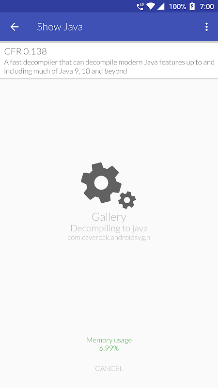 Show Java - A Java Decompiler 3 0 6 APK Download by Niranjan