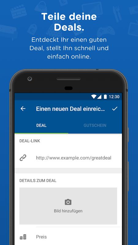 Android mydealz – Gutscheine, Schnäppchen, Angebote, Sale Screen 4