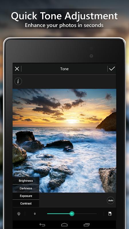 Android PhotoDirector Photo Editor App Screen 4