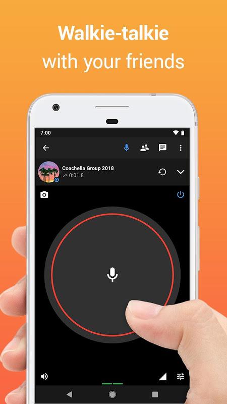 Zello PTT Walkie Talkie 4.62 Screen 1