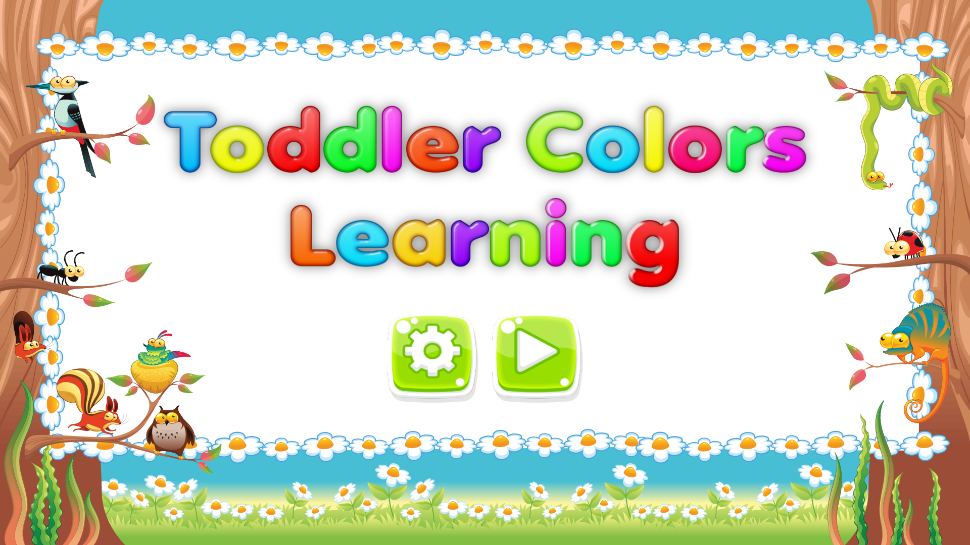 Android Toddler Colors Learning - Kids Educational Game Screen 8