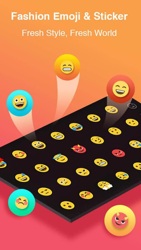 TouchPal Emoji Keyboard 5.7.9.2 Screen 2