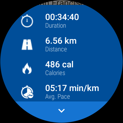 Android Runtastic PRO Running, Fitness Screen 25