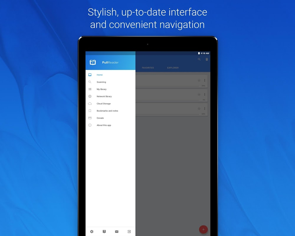 FullReader – e-book reader 4.0.4 Screen 8