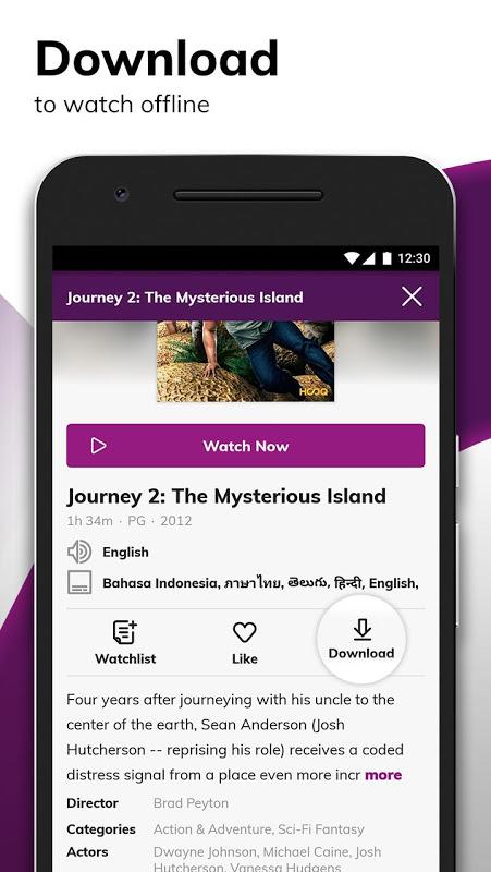 HOOQ - Stream & Watch Movies, TV Series & More 2.14.1-b705 Screen 6
