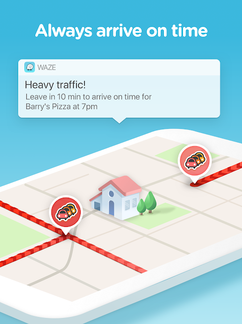 Waze - GPS, Maps, Traffic Alerts & Sat Nav 4.45.0.0 Screen 7