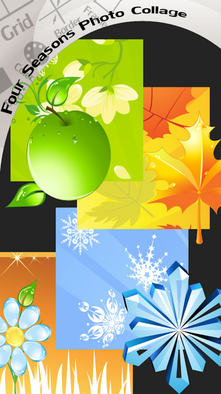 Android Four Seasons Photo Collage Screen 1