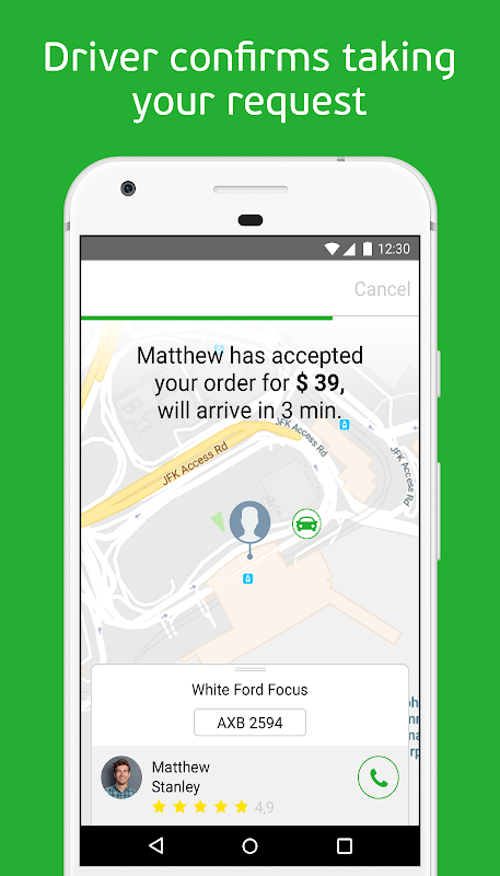inDriver — ride app where you offer your fare 3.18.4 Screen 1