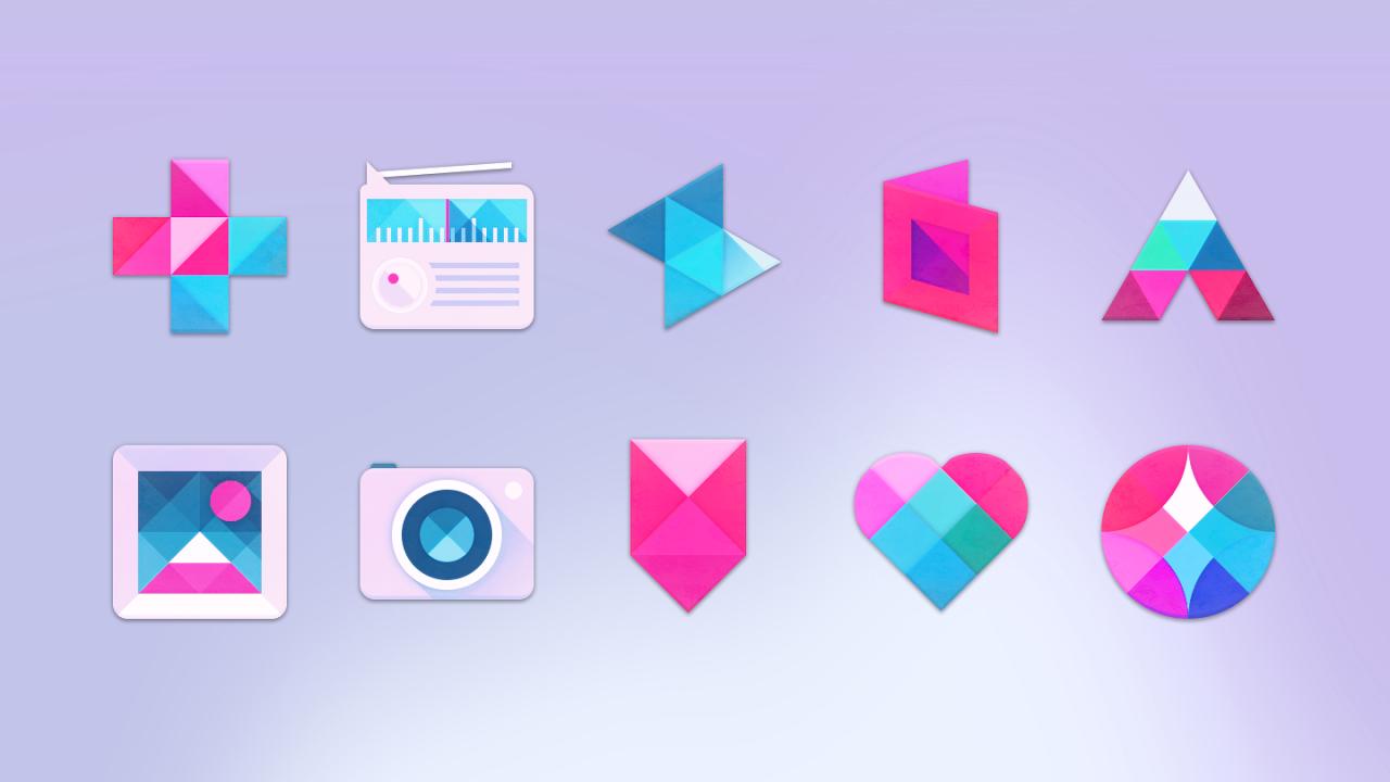 Unicorn Icon Pack 3.6 Screen 1