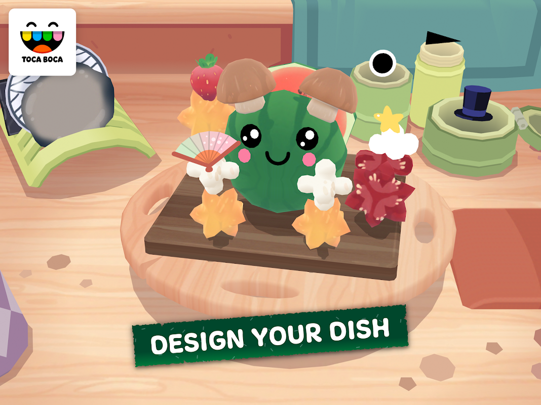 Toca Kitchen Sushi 1 0 APK Download by Toca Boca | Android APK