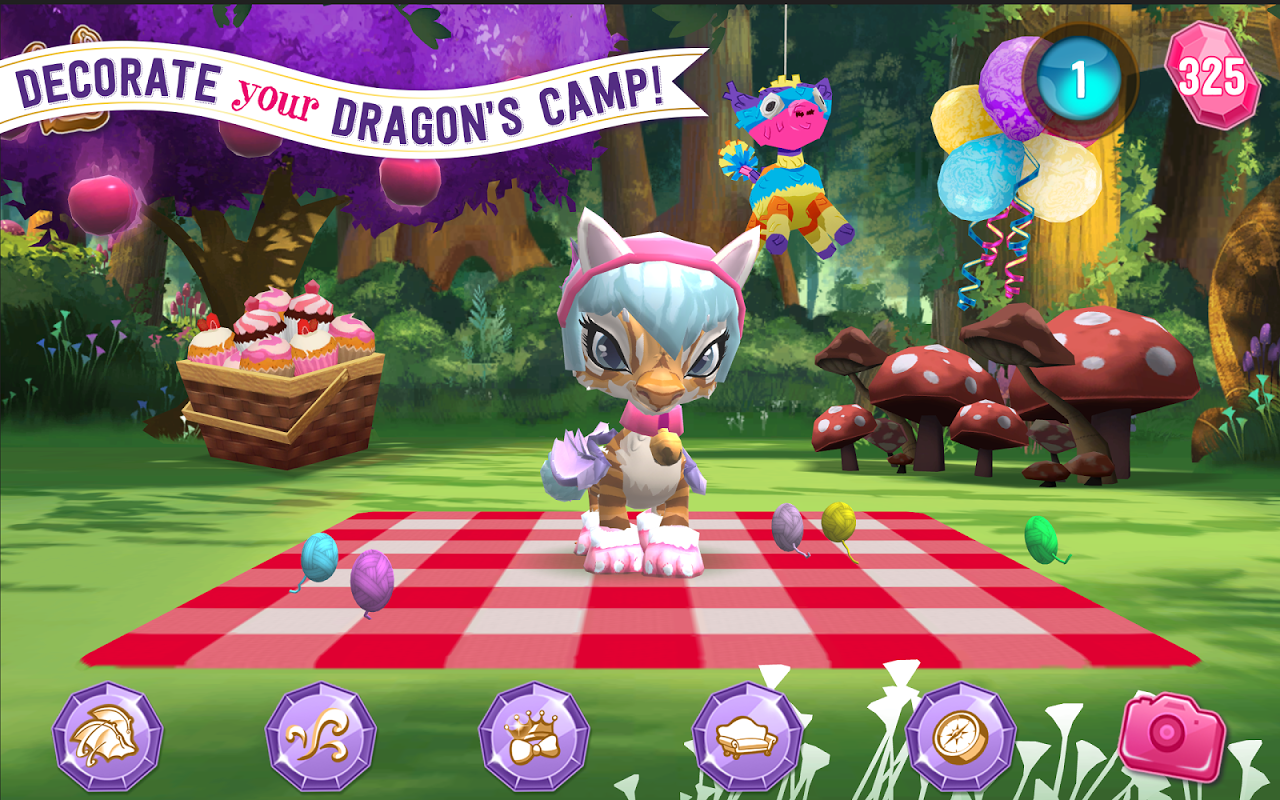 Android Ever After High™: Baby Dragons Screen 7