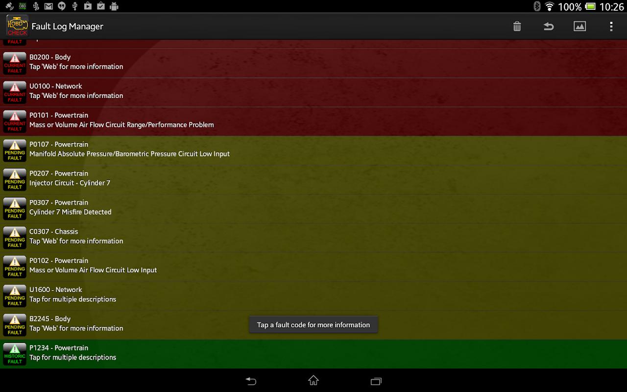 Android Torque Pro (OBD 2 & Car) Screen 15