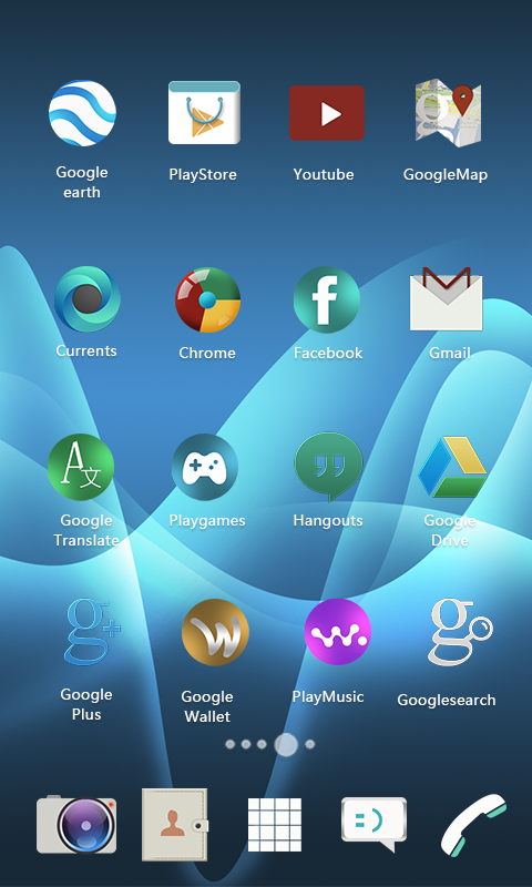 Android Xperia Theme Screen 5