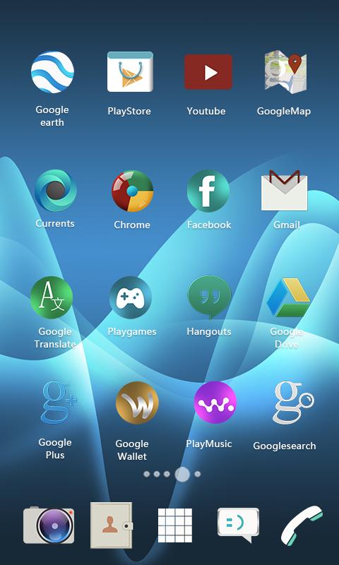 Android Xperia Theme Screen 5